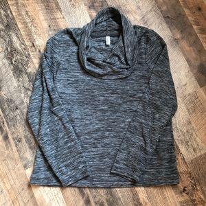 🌻3/$20 Exertek Fleece Workout Cowl Neck